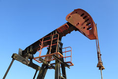 Oil Pump Jack (Sucker Rod Beam) Royalty Free Stock Photo