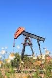 Oil Pump Jack (Sucker Rod Beam) Stock Photo
