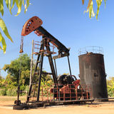 Oil Pump Jack (Sucker Rod Beam) Stock Images