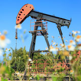 Oil Pump Jack (Sucker Rod Beam) Stock Photos