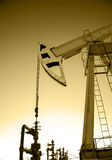 Oil pump. Royalty Free Stock Photography