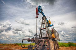 Oil pump Stock Image