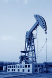 Oil pumping unit in working Stock Photography