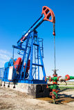 Oil pumpjack Royalty Free Stock Photo