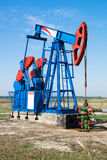Oil pumpjack Stock Photography