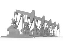 Oil pumps Royalty Free Stock Photo