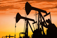Oil Pumps Stock Images