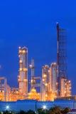 Oil raffinaderit Royaltyfri Fotografi