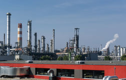 Oil rafinery Royalty Free Stock Photos