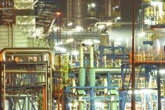oil rafineryen fotografering för bildbyråer