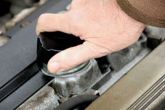 Oil refill Stock Images