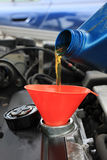 Oil refill Royalty Free Stock Images