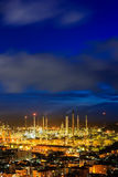 Oil Refineries Stock Photography