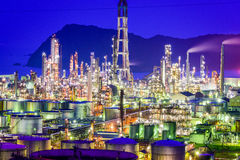 Oil Refineries Stock Images