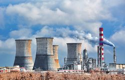 Free Oil Refinery Stock Image - 105802611