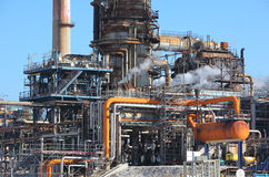 Oil Refinery Stock Image