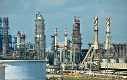 Oil Refinery. A oil refinery in Houston, Texas