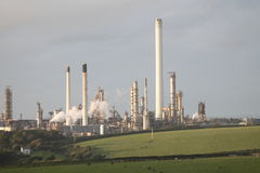 Oil Refinery Stock Images