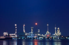 Oil refinery. Stock Photos