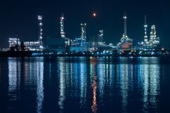 Oil refinery. Royalty Free Stock Photo
