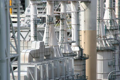 Oil Refinery Stock Photo