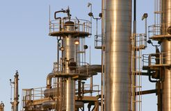 Oil Refinery #5 stock photography