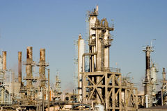 Oil Refinery 5 Royalty Free Stock Photo
