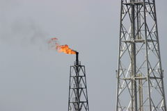 Free Oil Refinery Royalty Free Stock Photography - 61030537