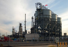 Oil Refinery Royalty Free Stock Images