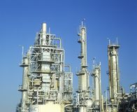 Oil refinery at Arco-Wilmington in Long Beach, CA Stock Photos