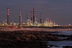 Free Oil Refinery At Night Royalty Free Stock Photos - 26450828