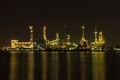 Oil Refinery in Bangkok, THAILAND Royalty Free Stock Images