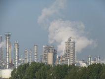 Industry Rotterdam Oil refinery Stock Photography