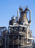 Oil refinery close-up Stock Photos