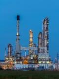 Oil Refinery in daytime Stock Image