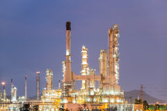 Oil_refinery Stock Images