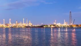 Oil Refinery Factory stock images