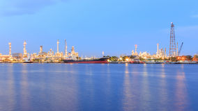 Oil Refinery Factory stock image