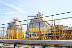 Oil Refinery factory. Stock Image