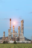 Oil Refinery factory in the morning Stock Photography
