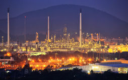 Oil Refinery factory Royalty Free Stock Image