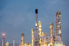 Oil Refinery Factory Stock Photos