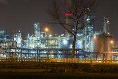 Oil refinery Stock Photos
