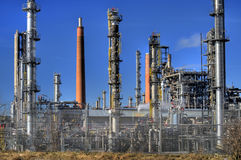 Oil Refinery in Germany Royalty Free Stock Photo