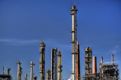 Oil Refinery in Germany Stock Photo