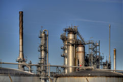 Oil Refinery in Germany Stock Photography