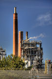 Oil Refinery in Germany Stock Photos