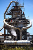 Oil Refinery petrochemical and heavy industry Stock Photography
