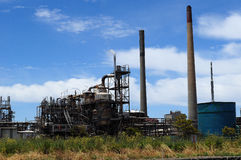 Oil Refinery and heavy industry Royalty Free Stock Photos