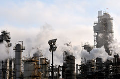 Oil refinery II Stock Photo